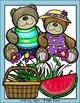 Teddy Bear Picnic Clip Art Set - Chirp Graphics