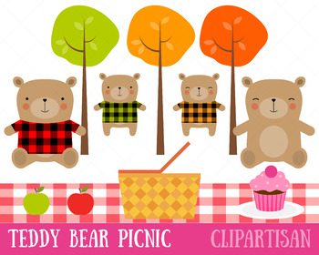 Teddy Bear Picnic Clip Art
