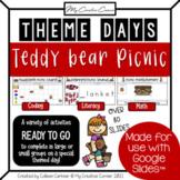 Teddy Bear Picnic Digital Activities for Kindergarten or G