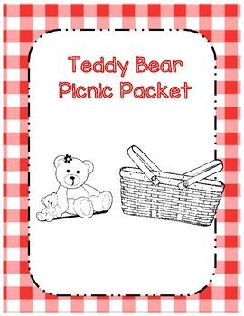 Teddy Bear Picnic Math and ELA