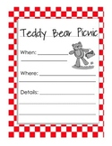 Teddy Bear Picnic Parent Letter