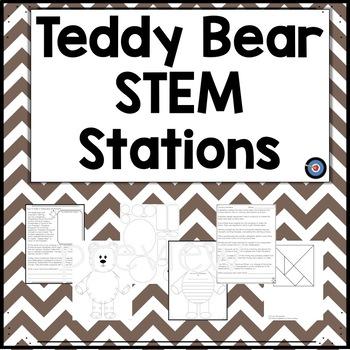 Teddy Bear STEM Stations