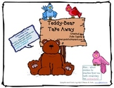 Teddy Bear Take Away:  Modeling Subtraction!