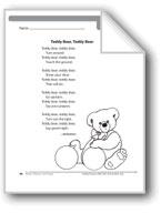 Teddy Bear, Teddy Bear (A rhyme)