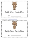 Teddy Bear Teddy Bear Emergent Reader