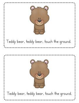 Teddy Bear Teddy Bear Emergent Reader