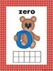 Teddy Bear Ten Frame Posters 0-9