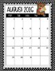 Teddy Bear-Themed Binder Inserts, Spines, Monthly Calendar Pieces and More