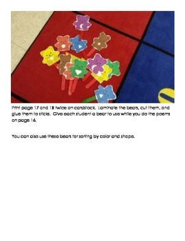 Teddy Bear Themed Math and Reading Activities, Crafts, and Manipulatives!