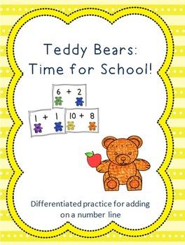 Teddy Bear: Time for School!