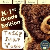 Teddy Bear Week Kindergarten and 1st Grade Pack to do all Week or for a Day