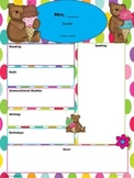 Teddy Bear and Ice Cream Newsletter