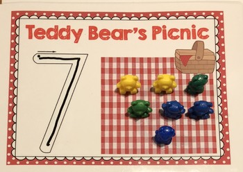 Teddy Bear's Picnic Number & Counting Mats 1-10