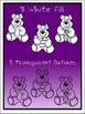 Teddy Bears Clipart (3 FREE Elements Included)  Embellish Yourself Artworks