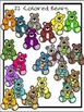 Teddy Bears Clipart (3 FREE Elements Included)  Embellish