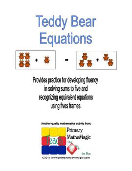 Teddy Bears Equations
