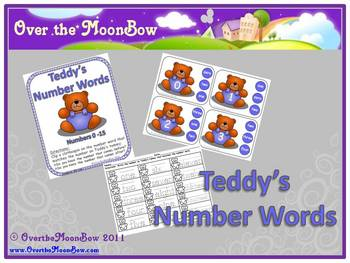 Teddy Bear's Numbers & Number Words Game