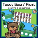 Teddy Bears' Picnic Counting and Sequencing