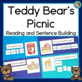 Teddy Bears' Picnic Reading and Sentence Building