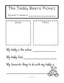 Teddy Bears Picnic Writing Template
