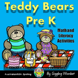 Teddy Bears Math and Literacy Activities