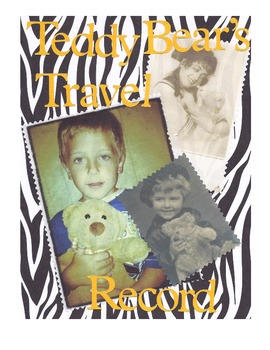 Teddy Bear's Traveling Record Journal