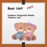 Bears Unit Pre-K and Kinder