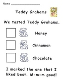 Teddy Graham Tasting Recording Page