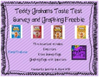 Teddy Grahams Graphing Freebie