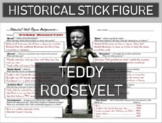 Teddy Roosevelt Historical Stick Figure (Mini-biography)