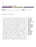 Teddy Roosevelt Word Search