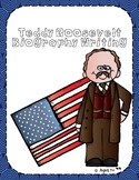 Teddy Roosevelt Writing Tab Book