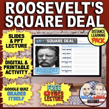 """Teddy Roosevelt's """"Square Deal"""" Bundle"""