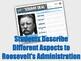 Teddy Roosevelt's Square Deal Digital Activity