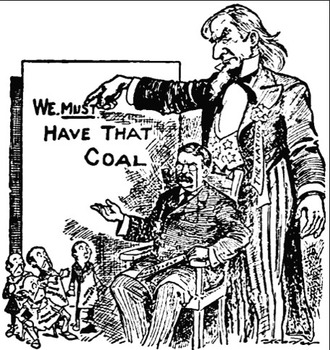 Teddy Roosevelt the Anthracite Coal Strike, Railroad companies, and Civil Rights