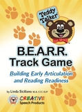 Speech Sounds-Alphabet Game:  Teddy Talker B.E.A.R.R. Track Game