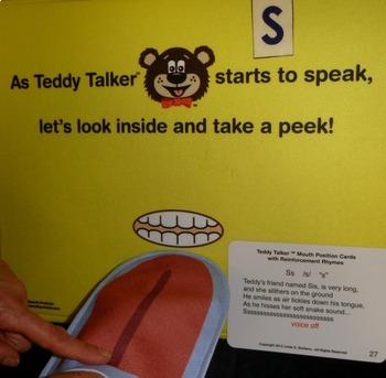 Multisensory Articulation:  Teddy Talker® Combo