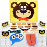Multisensory Speech Sounds and Alphabet:  Teddy Talker® Combo