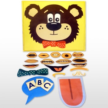 Multisensory Articulation and Alphabet: Teddy Talker® Foundation Kit