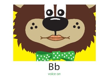 Articulation:  Teddy Talker™ Mouth Position Cards with Reinforcement Rhymes