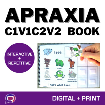 Teddy, Teddy, What Do You See? An Interactive Book & Activities for Apraxia