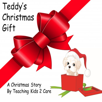Teddy's Christmas Gift - A Christmas Story of Giving PowerPoint
