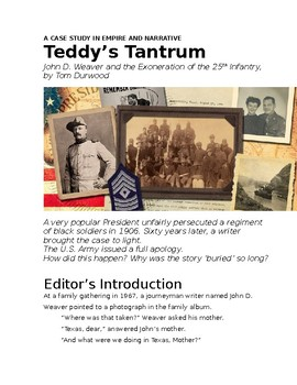 Teddy's Tantrum feature
