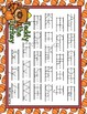 Teddy the Turkey Dotted Letter with Line Alphabet Practice Mat Dry Erase