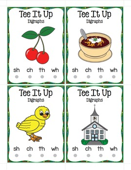 Digraphs - Tee It Up For Digraphs