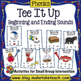 Beginning and Ending Sounds - Tee It Up For Sounds