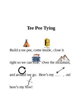 Tee Pee Tying