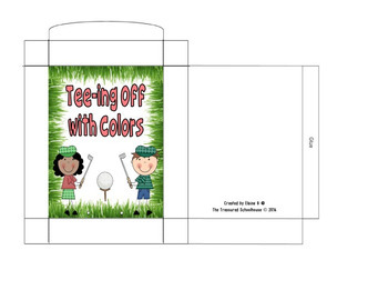Tee-ing Off With Colors 2-Part Cards {FREEbie}