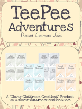 TeePee Adventures Class Jobs
