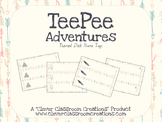 TeePee Adventures Desk Name Plates